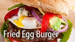 Inspired Cooks Presents: Fried Egg Topped Burger