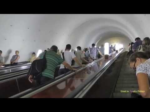 Метро в Москве. The Beautiful Stations on the Moscow Metro System 2016.