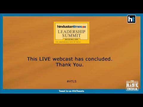 Hindustan Times Leadership Summit LIVE