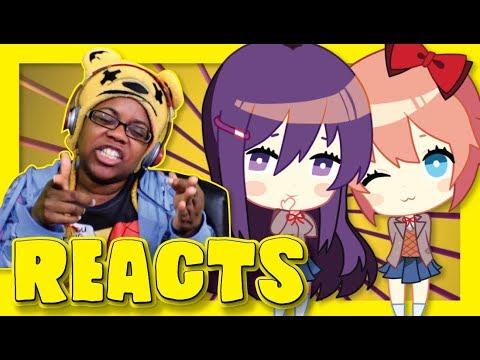 Virus - Doki Doki Literature Club! Song Reaction