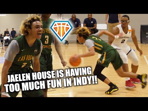 Jaelen House is Having TOO MUCH FUN IN INDY!! | Shadow Mountain's ENERGETIC Guard GOES OFF