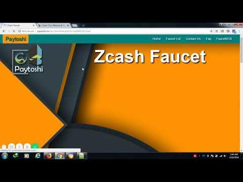 Claim Zcash 800 satoshi setiap 5 menit