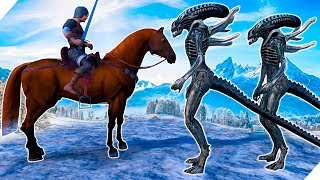 9000 Рыцарей и 4000 Чужих - Ultimate Epic Battle Simulator. UEBS игры 2019