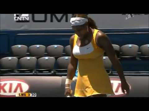 Serena Williams vs Urszula Radwanska 2010 AO Highlights