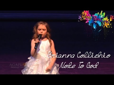 Brianna Collichio ♥ Note To God (Lyrics)