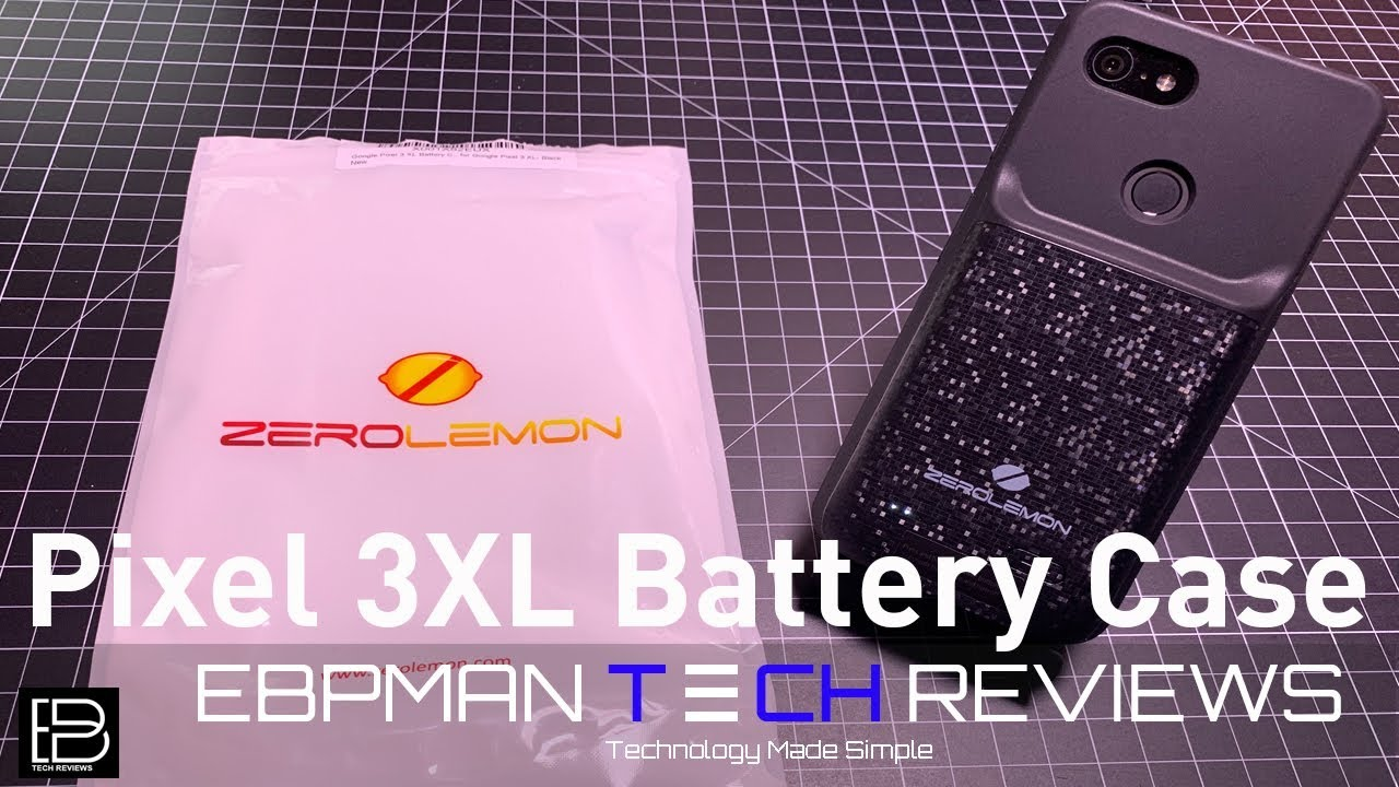 quality design feaad 73e8c Google Pixel 3 XL Battery Case from ZeroLemon