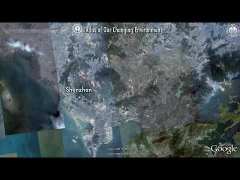 Shenzhen, China: UNEP & Google Earth highlights environmental change