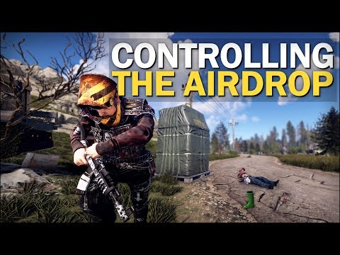 Taking CONTROL of the AIRDROP! - Rust Solo Survival