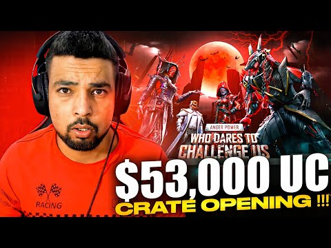 $53000 UC ANGER POWER CRATE OPENING - FM RADIO GAMING