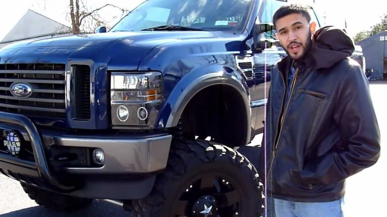 """2012 F250 For Sale >> 2009 Ford F-350 8"""" Lift Kit For Sale - YouTube"""