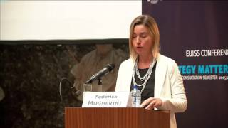 Keynote - Federica Mogherini launches the EU Global Strategy thumbnail