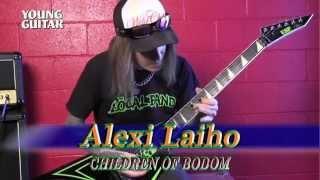 ヤング・ギター2015年11月号の付録DVDはアレキシ・ライホ(チルドレン・...