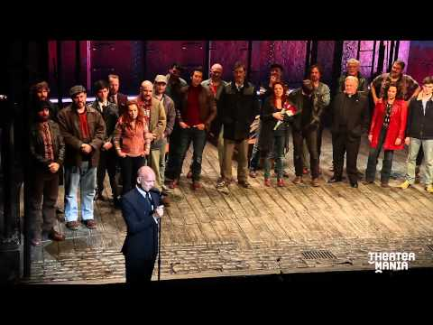 Sting's Emotional Speech at the Opening Night of Broadway's The Last Ship