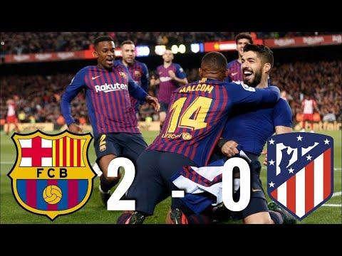 Barcelona vs Atletico Madrid 2-0 ||  RESUMEN Goals  Extended Highlights HD ||  2019