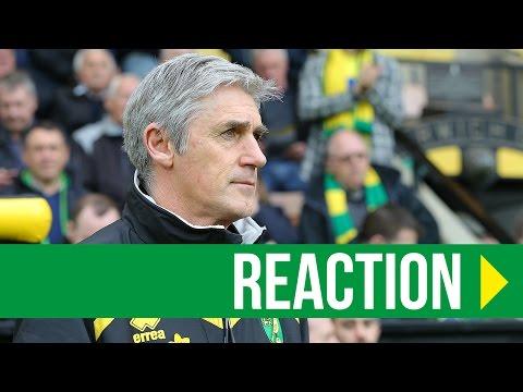 Norwich City 2-0 Barnsley: Alan Irvine Reaction