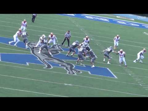 Bob Russell Kings College Football Career Highlights 20132016