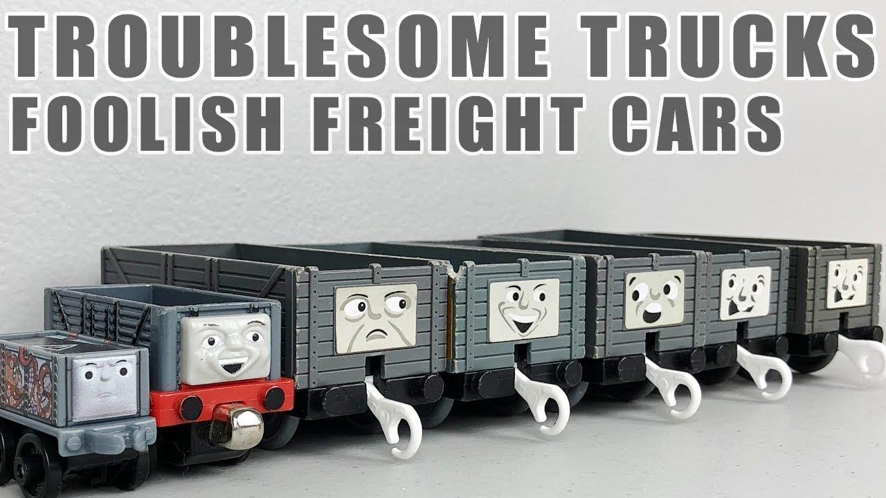 tomy trackmaster thomas the tank engine troublesome trucks cargo