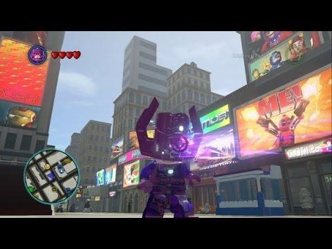 LEGO Marvel Super Heroes - Galactus Free Roam Gameplay - YouTube