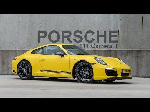 Porsche 911 Carrera T 2018 review [ Love At First Drive ]