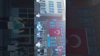 Cumhuriyet Ortaokulu 6-A 23 nisan gösterisi(2017)