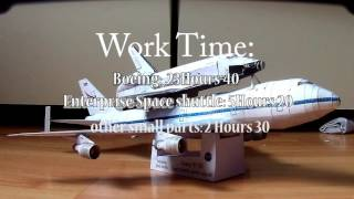 Space shuttle carrier aircraft  in papercraft!!