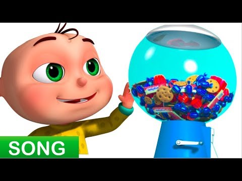 Thumbnail: Five Little Babies Playing Candy Ball Machine (Single) | Zool Babies Fun Songs | Videogyan 3D Rhymes