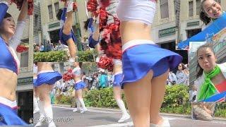 日産自動車チアダンス☆ ザ よこはまパレード 65th 横浜開港記念みなと祭 国際仮装行列