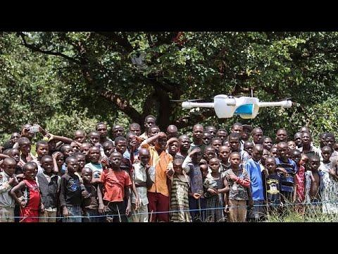 Des drones pour lutter contre le VIH au Malawi