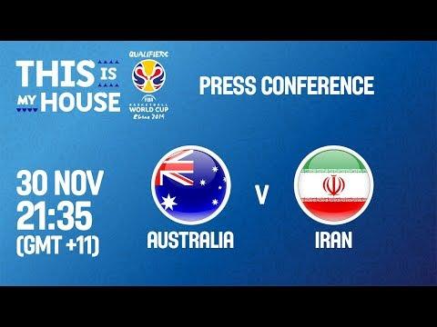 Australia v Iran - Press Conference