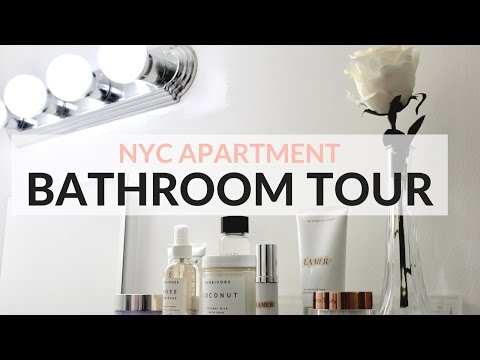 NYC APARTMENT TOUR - THE BATHROOM