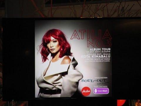 23102017 Atilia No.3 Album Tour @ Kota Kinabalu