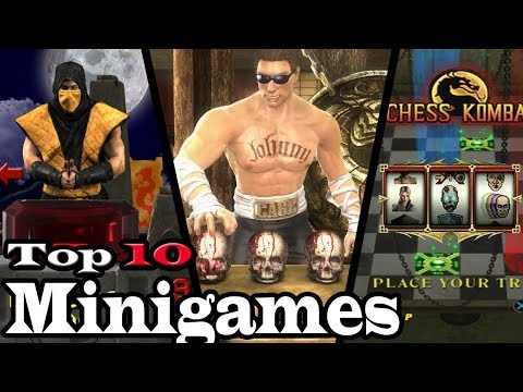 Top 10 Mortal Kombat Mini-Games thumbnail