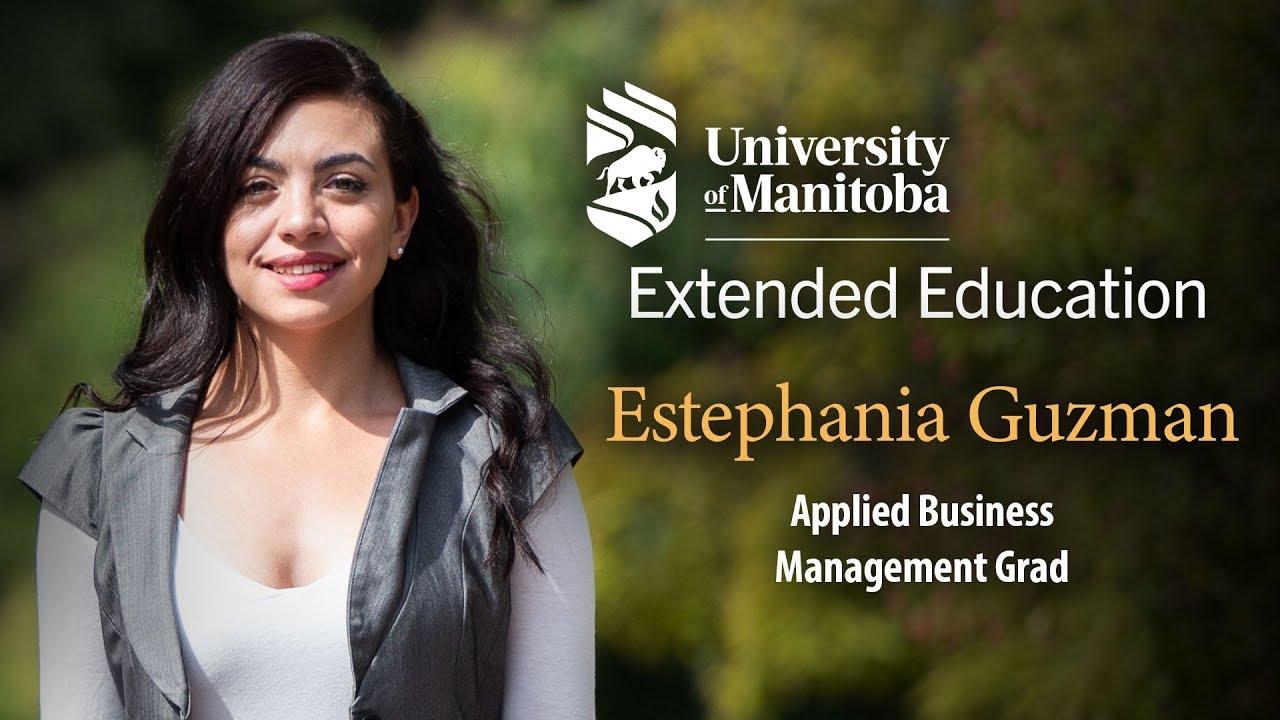 Estephania Guzman Applied Business Management Grad Youtube