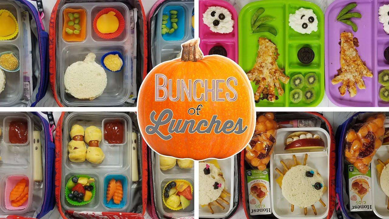 6d0f8af1e201 Halloween School Lunch Ideas 🍎 JK, K, 1st grade, 2nd Grade | Bunches of  Lunches 🎃