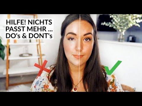 Zu Hell Oder Dunkel Aktuelle Makeup Routine I Vorher