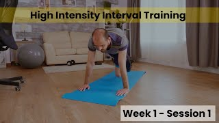 HIIT - Week 1/2 Session1 (Control)