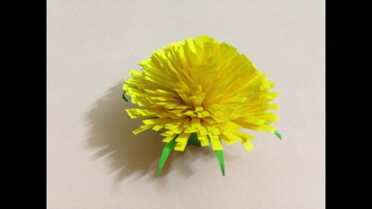 Origami Easy - Origami Flower Tutorial - YouTube | 720x1280