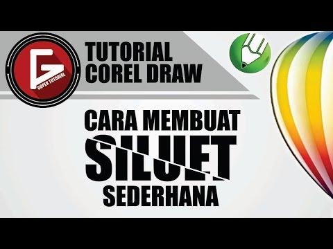 Ada yang belum tahu cara membuat siluet dengan corel draw? yuk ikuti panduan di video ini..