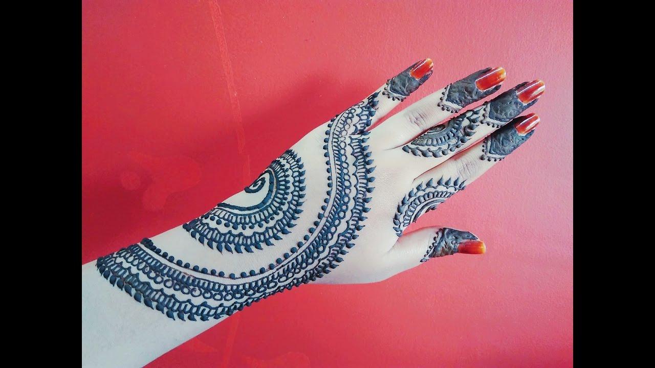 Mehndi For Diwali : Arabic mehndi design for diwali beautiful henna