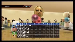 Wii Sports - Bowling (Tha MC.Kid Vs Beeca Vs Gilles Vs Lee) Match #1