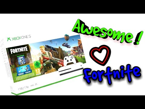 Xbox One S - Fortnite Bundle Unboxing