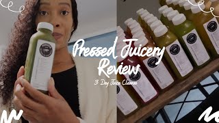 Pressed Juicery 3 Day Cleanse! Do you really lose weight? | Honest Experience & Review