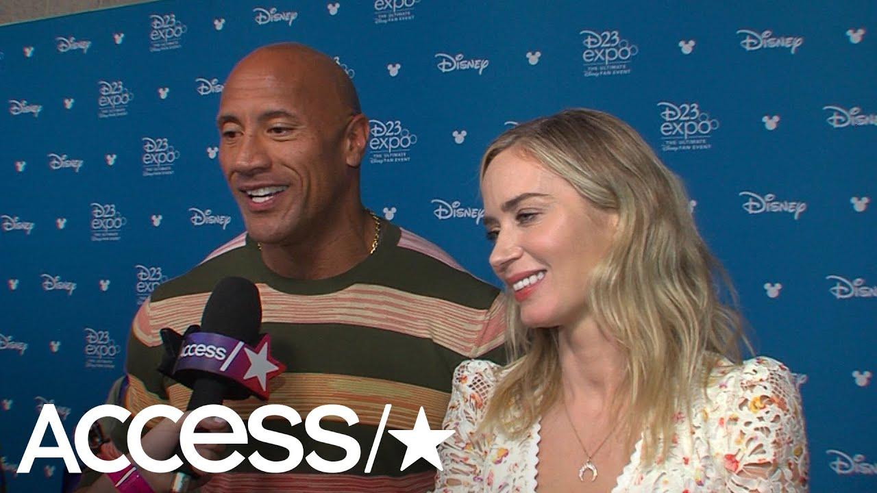 Dwayne 'The Rock' Johnson Spills Wedding Details At D23: 'It Was Phenomenal'