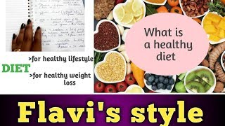 What is healthy diet || habits to ...