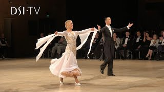 Andrea Ghigiarelli and Sara Andracchio Quickstep Honour Dance UK Open 2019 DSI TV
