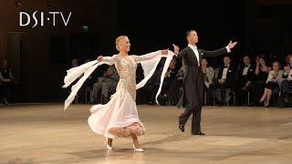 Andrea Ghigiarelli and Sara Andracchio Quickstep Honour Dance UK Open 2019 DSI TV