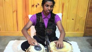 Tabla Solo by Deepa Paulus [and bloopers!]