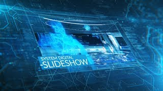 After Effects Template 2018 - System Digital Slideshow Hi Tech Template By After Effects cc 2018