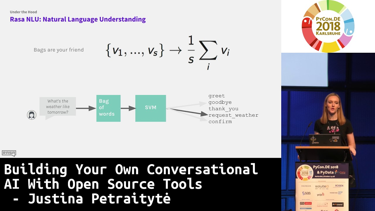 Image from Building your own conversational AI with open source tools