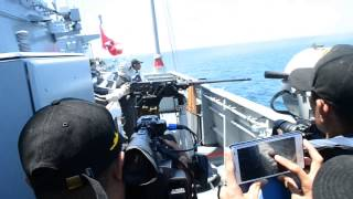 Royal Malaysian Navy - Cannon, Machine Gun Test Firing